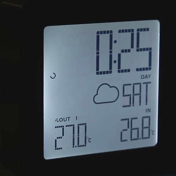 Проекционные часы Oregon Scientific BAR368P-Black черный