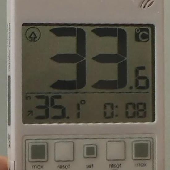 Дисплей термометра RST 01581