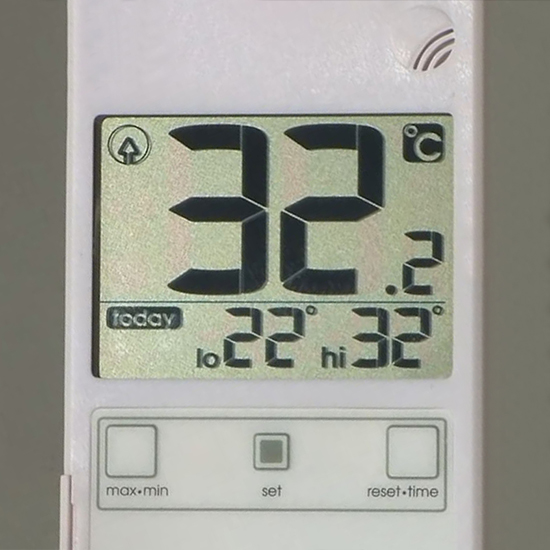 Дисплей термометра RST 01588