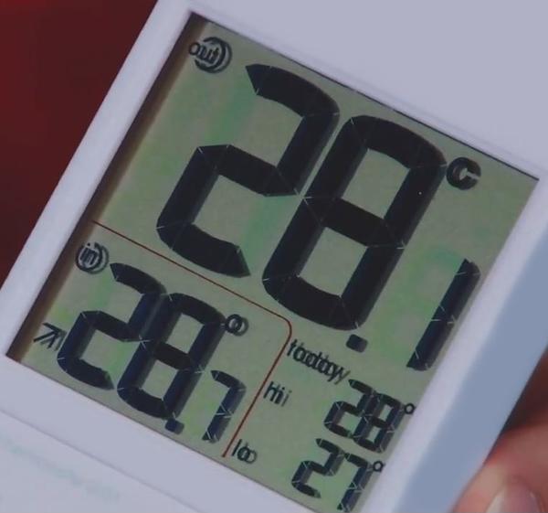Дисплей термометра RST 02151