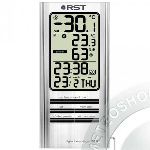 Настройки вашего браузера не позволяют Вам просмотреть фото термогигрометра RST 02317