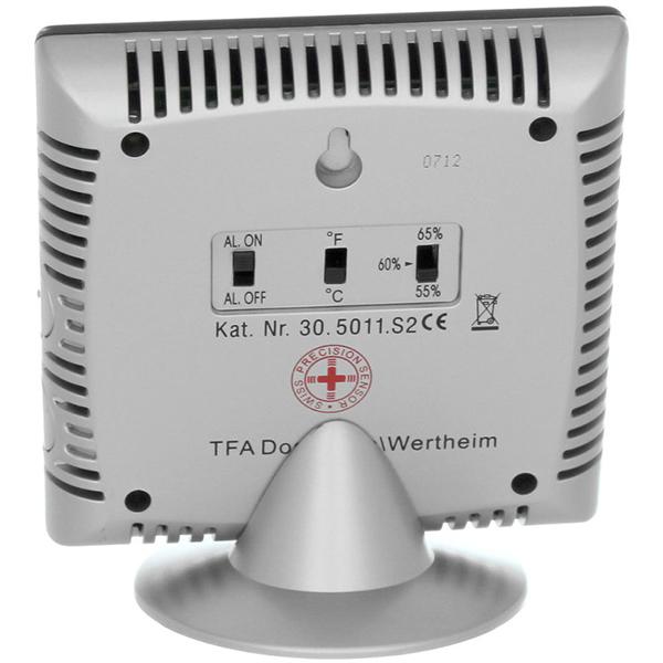 Термогигрометр TFA 30.5011 вид сзади